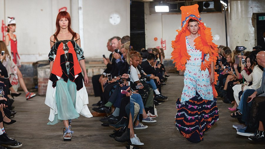 Challenge the Fabric vid London Fashion Week